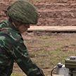 На полигоне под Минском завершился конкурс Армейских международных игр «Уверенный прием»