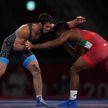 Олимпиада в Токио: представитель Беларуси Магомедхабиб Кадимагомедов завоевал серебряную медаль по вольной борьбе