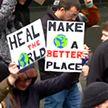 70 тысяч человек вышли на марш в защиту климата в Брюсселе