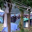 Полиция расселила лагерь мигрантов на севере Франции