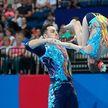II Европейские игры: белорусские акробаты Артур Беляков и Ольга Мельник завоевали бронзу в многоборье