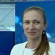 Дарья Домрачева и другие белорусские олимпийцы встретились с начинающими спортсменами в здании НОК