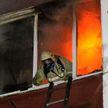 Пожарные спасли девочку из горящей квартиры в Берёзе