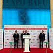 Ильхам Алиев посетил выставку белорусских товаров в Баку