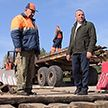 Поврежден деревянный мост через Птичь: движение организовано через соседнюю область