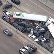 Около ста автомобилей столкнулись в Техасе
