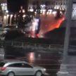 Автомобиль пролетел над площадью Победы в Минске, или Как выжить в страшном ДТП. Спросили лично у водителя