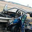На МКАД-2 барьерное ограждение насквозь пробило легковой Renault. Водитель погиб