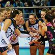 Волейболистки «Минчанки» уступили лидеру чемпионата России «Локомотиву»
