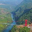 В Китае открыли самый длинный стеклянный мост