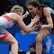 Василиса Марзалюк и Ирина Курочкина прошли в финал турнира по борьбе II Европейских игр