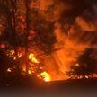 Крупный пожар произошел в Баку на фабрике красок. Есть пострадавшие