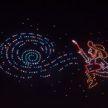 Сотни дронов создали в небе картины Ван Гога и попали в Книгу рекордов Гиннесса