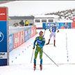 Россиянин Александр Логвинов победил в индивидуальной гонке этапа Кубка мира по биатлону