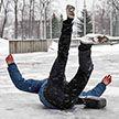 В Беларуси  из-за гололёда за два дня пострадали более 1000 человек