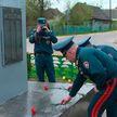 Сотрудники МЧС организовали автопробег по местам боевой славы в Брестском районе
