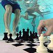 В Лондоне дайверы сыграли в шахматы под водой
