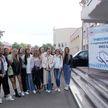 «Мисс Беларусь»: участницы конкурса побывали на МАЗе