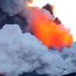 Улицы сицилийского города Катания покрылись пеплом из-за активности вулкана Этна