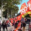 Во Франции началась общенациональная забастовка