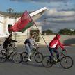 За мирное небо и спокойное будущее: акции в поддержку государства продолжаются в Беларуси
