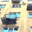 Минчанка хотела сброситься с балкона из-за ссоры с сожителем (ВИДЕО)