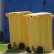 Жителям частного сектора в Гомеле  бесплатно раздают цветные контейнеры для отходов
