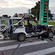 Смертельное ДТП на въезде в Жодино: Fiat с пьяным водителем врезался в фуру