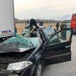 ДТП в Лиозненском районе: погиб пассажир