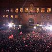 Десятки тысяч болельщиков гандбольной сборной Дании устроили праздник на улицах Копенгагена